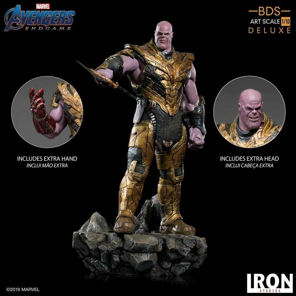 Iron Studios Thanos Black Order BDS Art Scale 1/10 - Avengers Endgame