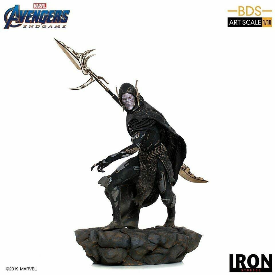 Corvus Glaive Black Order BDS Art Scale 1/10 - Avengers Endgame