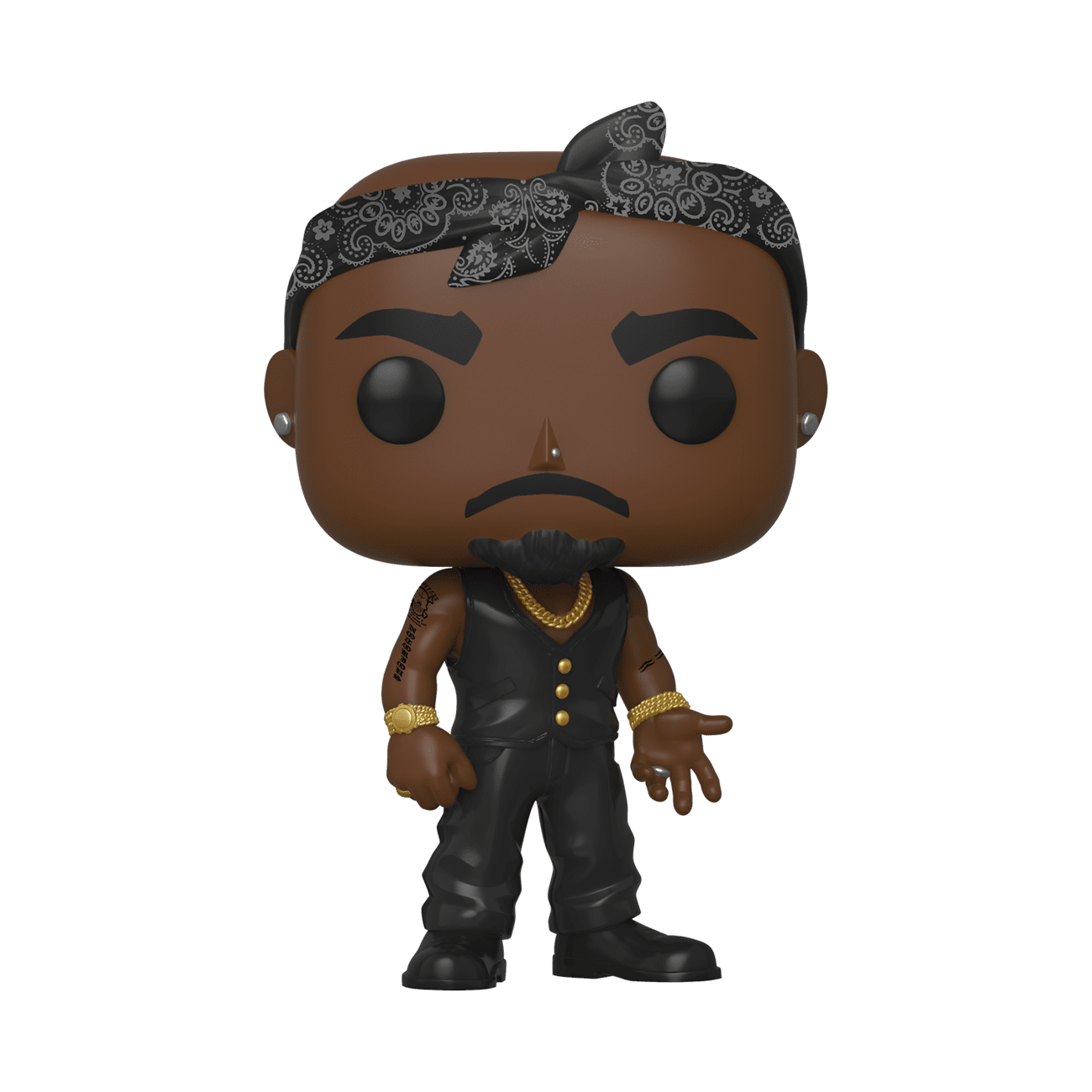 Funko Tupac Vest with Bandana Pop! Vinyl Figure
