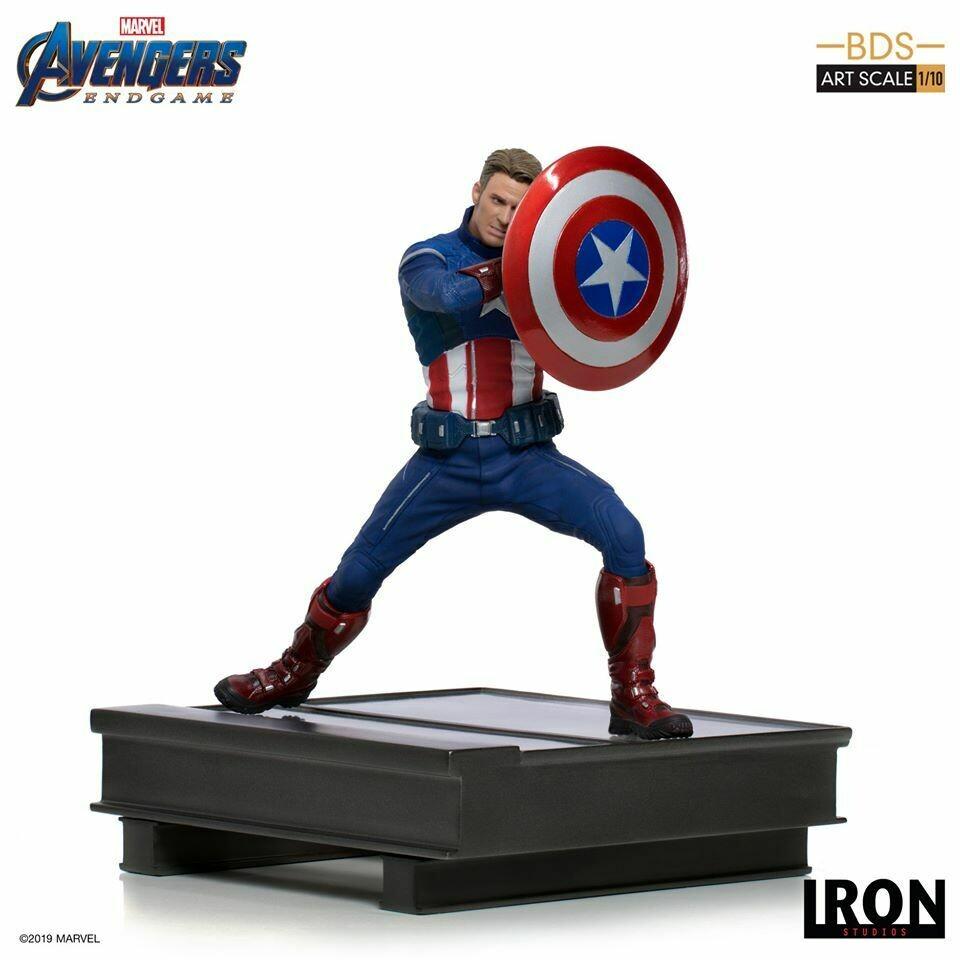 Iron Studios Captain America 2023 BDS Art Scale 1/10 - Avengers Endgame