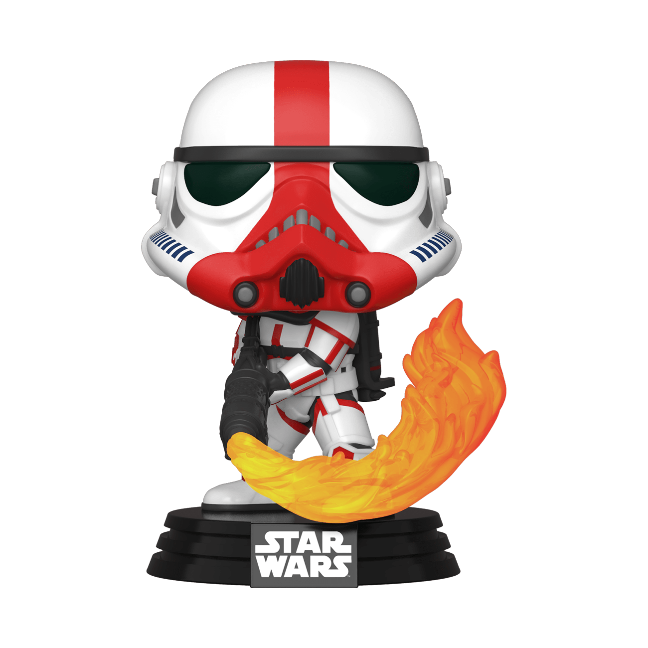 Star Wars: The Mandalorian Incinerator Stormtrooper Pop! Vinyl Figure