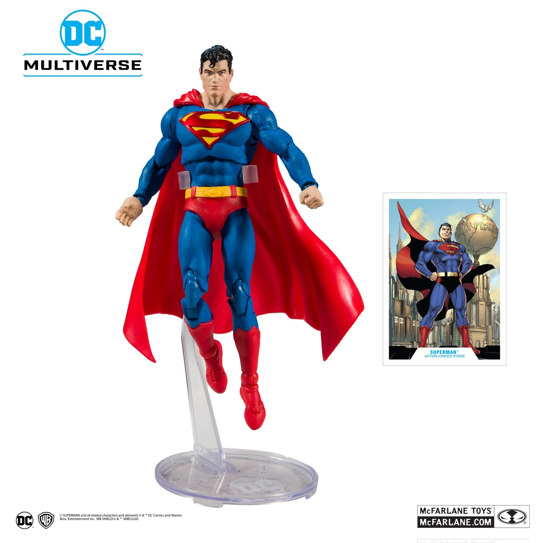 Mcfarlane DC Batman Superman Modern Superman 7-Inch Action Figure