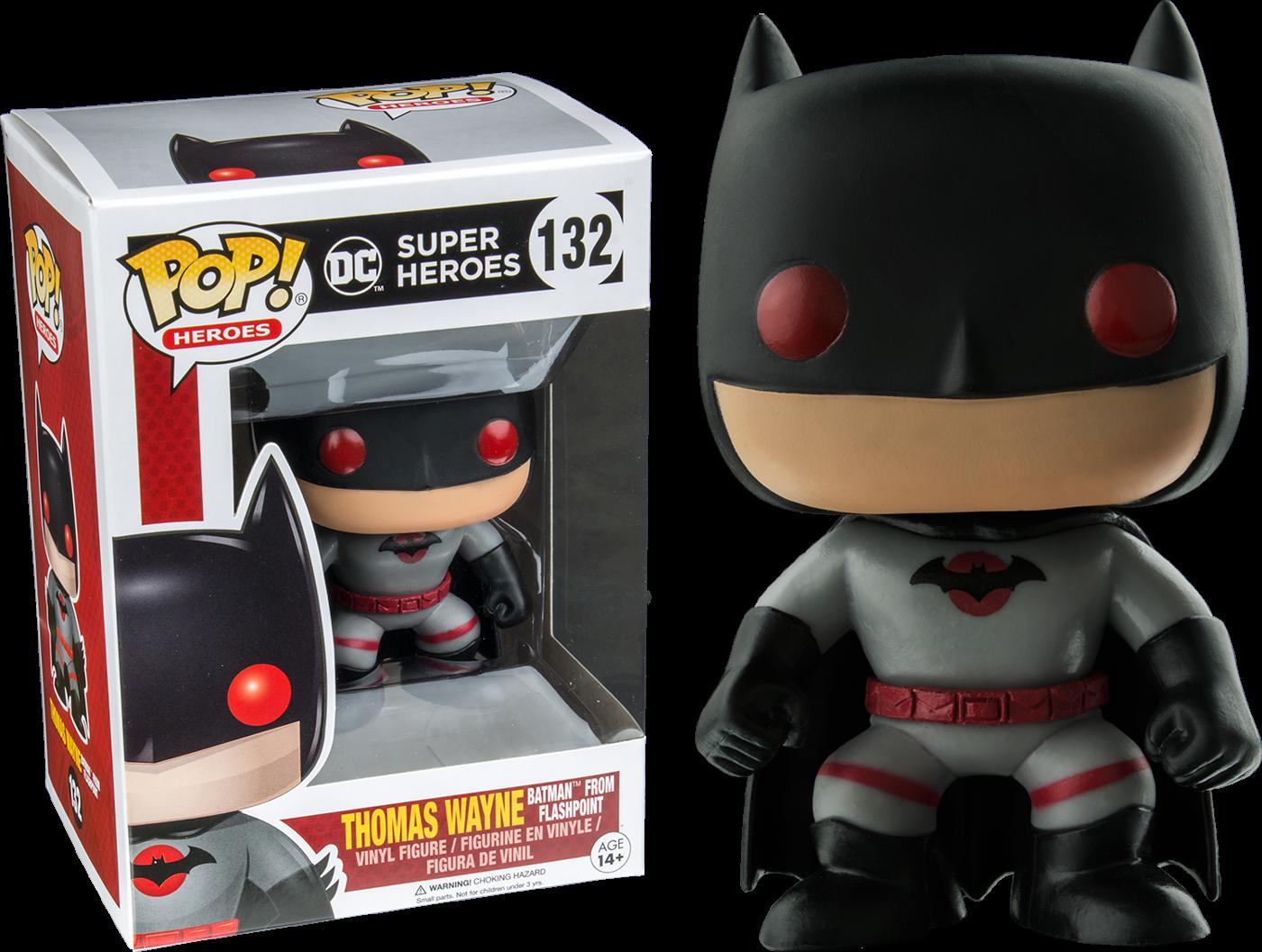 Funko Batman - Flashpoint Batman Thomas Wayne Pop! Vinyl Figure