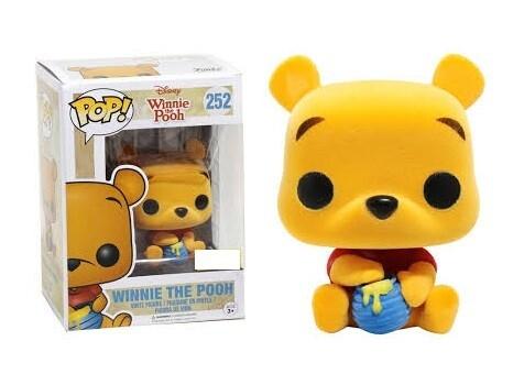 Funko Disney: Winnie the Pooh - Seated Pooh Flocked Pop! Vinyl Figure