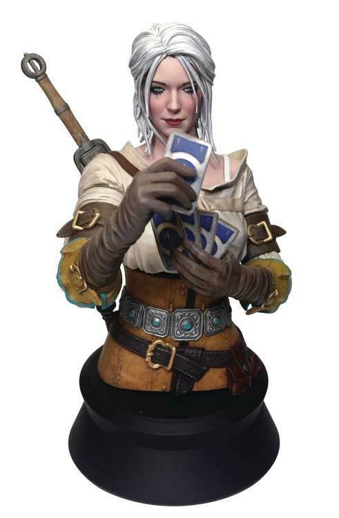 PRE-ORDER Dark Horse The Witcher 3 - Wild Hunt : Ciri Playing Gwent Bust