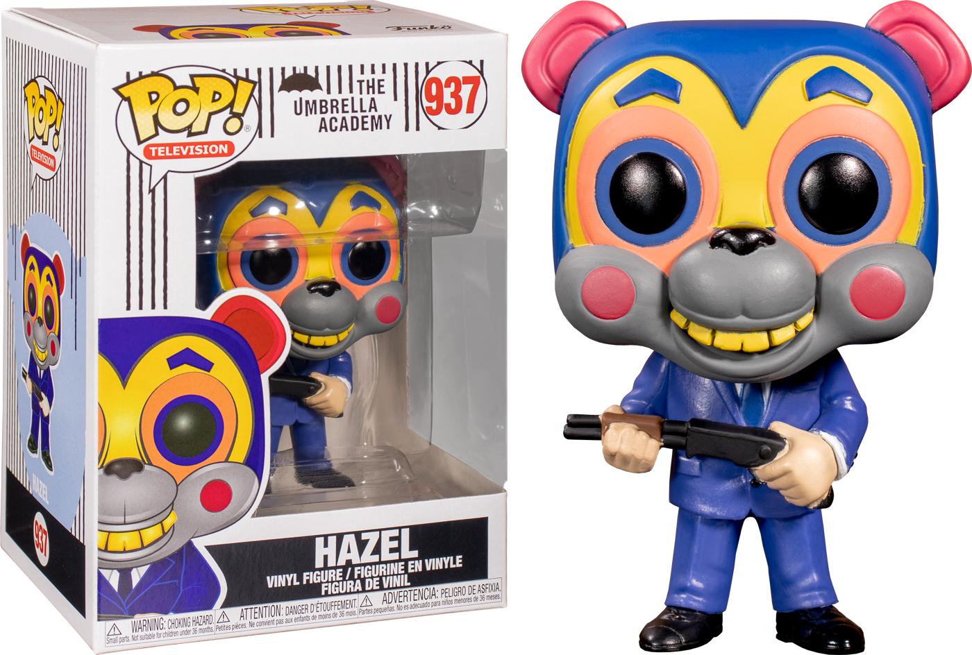 Funko Umbrella Academy - Hazel with Mask Pop! Vinyl Figure