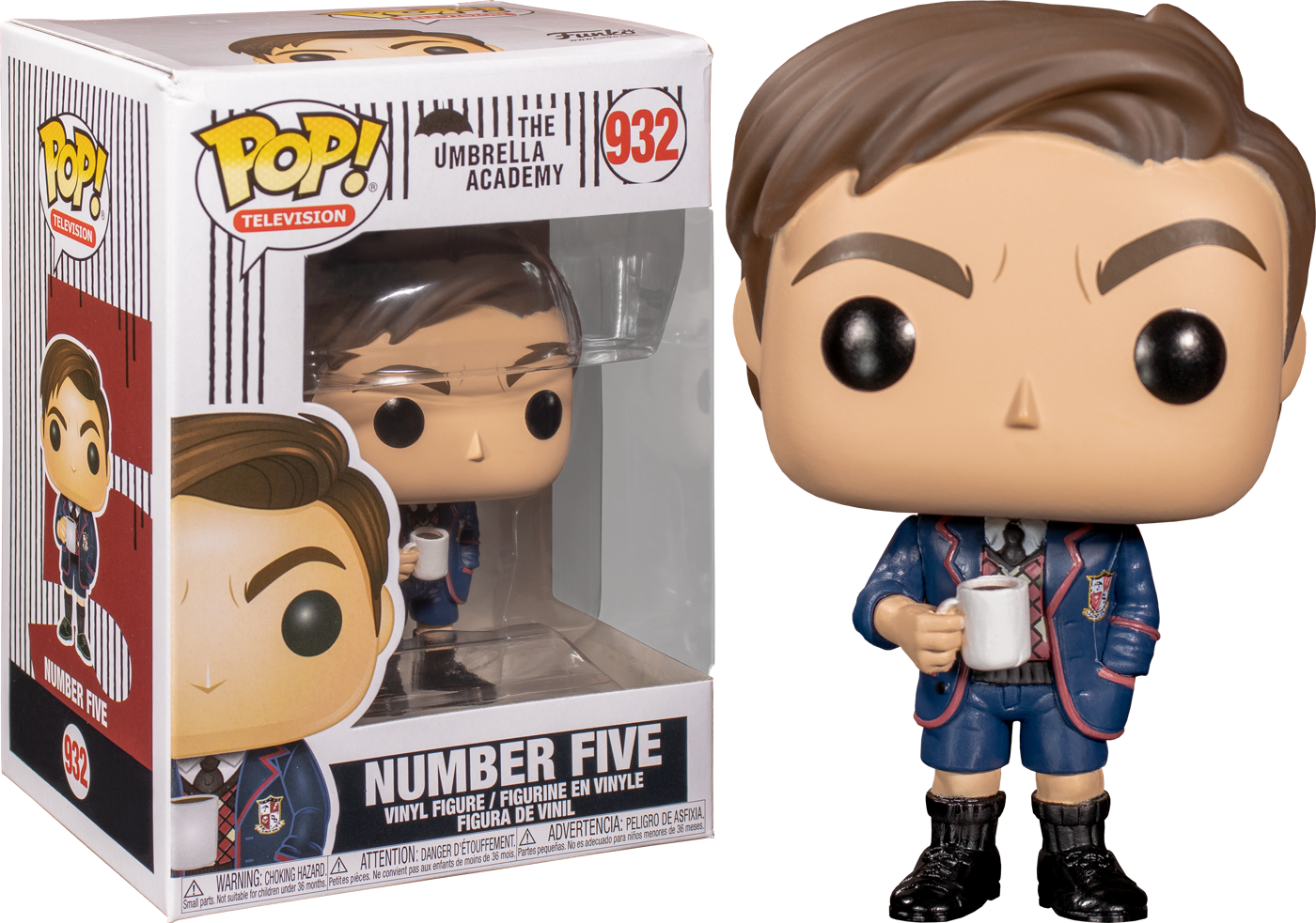 Umbrella Academy - Number Five Pop! Vinyl Figure