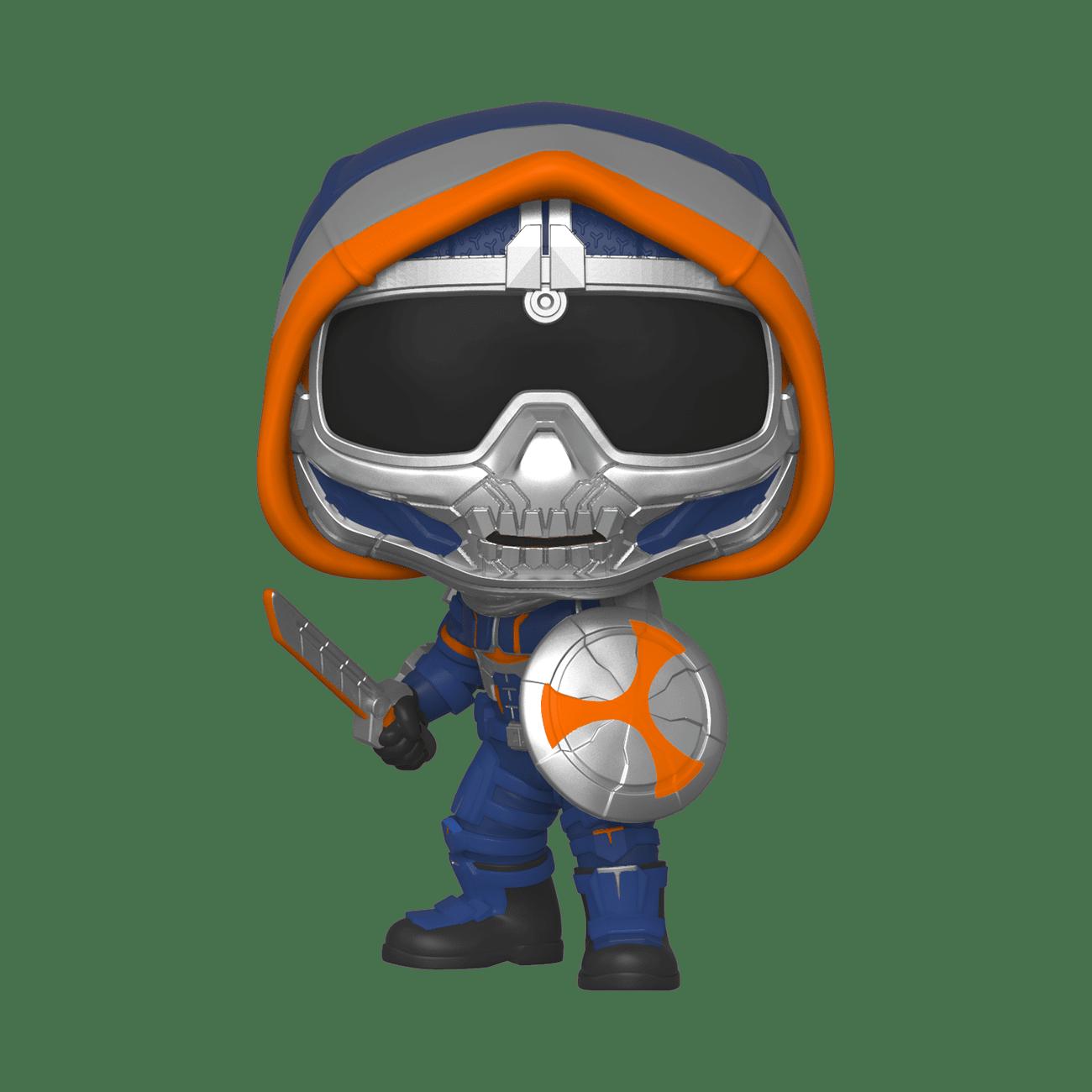 Black Widow Task Master with Shield Pop! Vinyl Figure