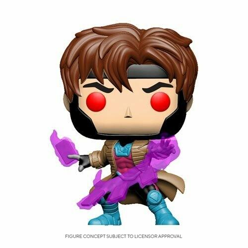 POP! Marvel: X-Men Classic– Gambit w/ Cards
