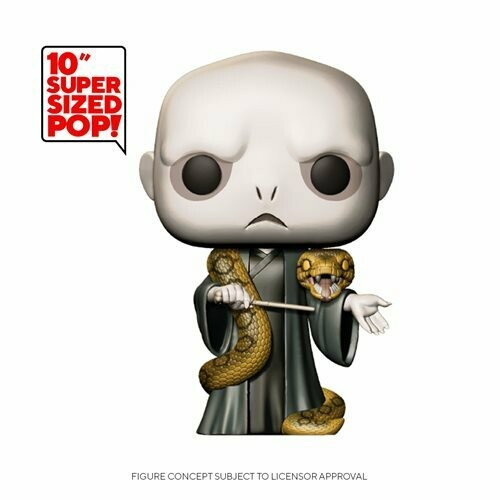 "POP! HP: Harry Potter- 10"" Voldemort w/Nagini"