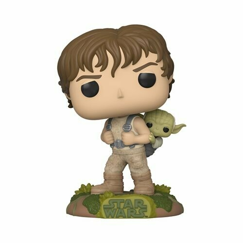 PRE-ORDER Star Wars: Empire Strikes Back Training Luke with Yoda Pop! Vinyl Figure
