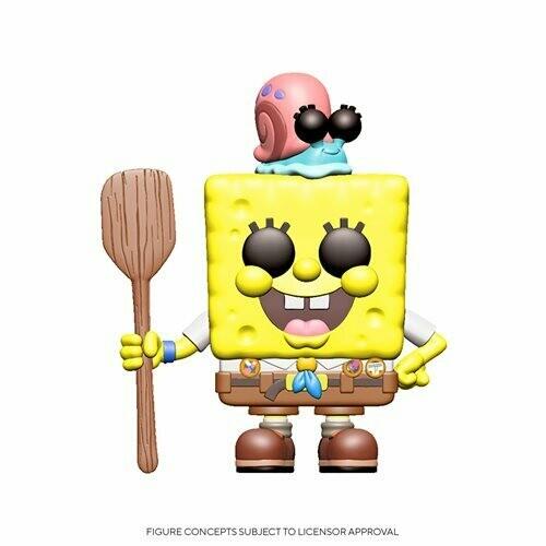 SpongeBob SquarePants Movie Spongebob in Camping Gear Pop! Vinyl Figure