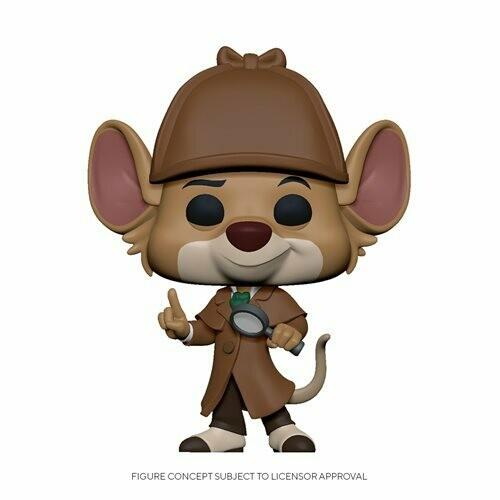 PRE-ORDER The Great Mouse Detective Basil Pop! Vinyl Figure