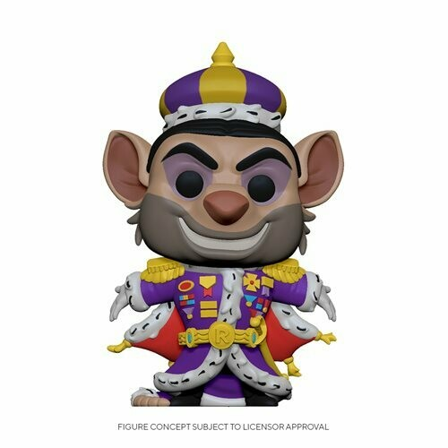 PRE-ORDER The Great Mouse Ratigan Pop! Vinyl Figure