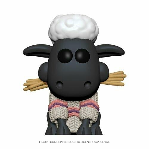 PRE-ORDER Wallace & Gromit Shaun the Sheep Pop! Vinyl Figure