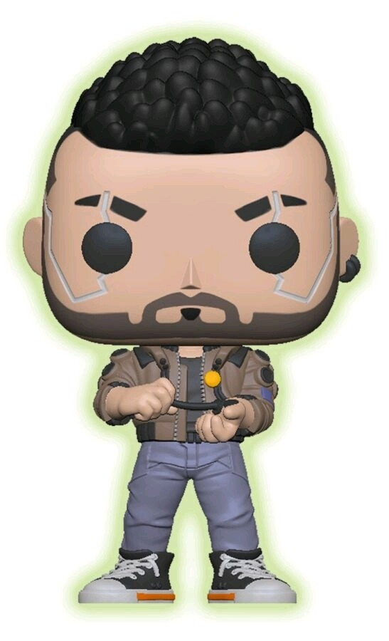 Cyberpunk 2077 V-Male Glow in the Dark Exclusive Pop! Vinyl Figure