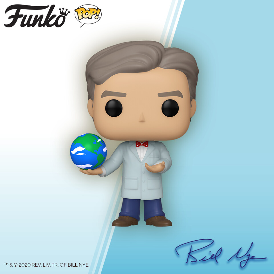 PRE-ORDER Bill Nye Pop! Vinyl Figure