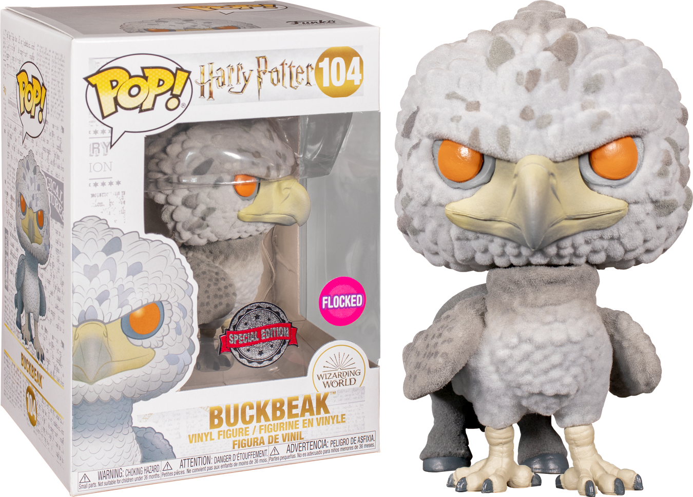 Harry Potter - Buckbeak Flocked Pop! Vinyl Figure