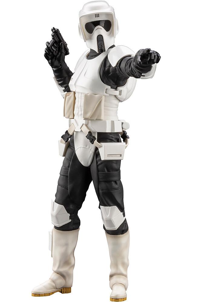Star Wars Scout Trooper ArtFX+ Statue