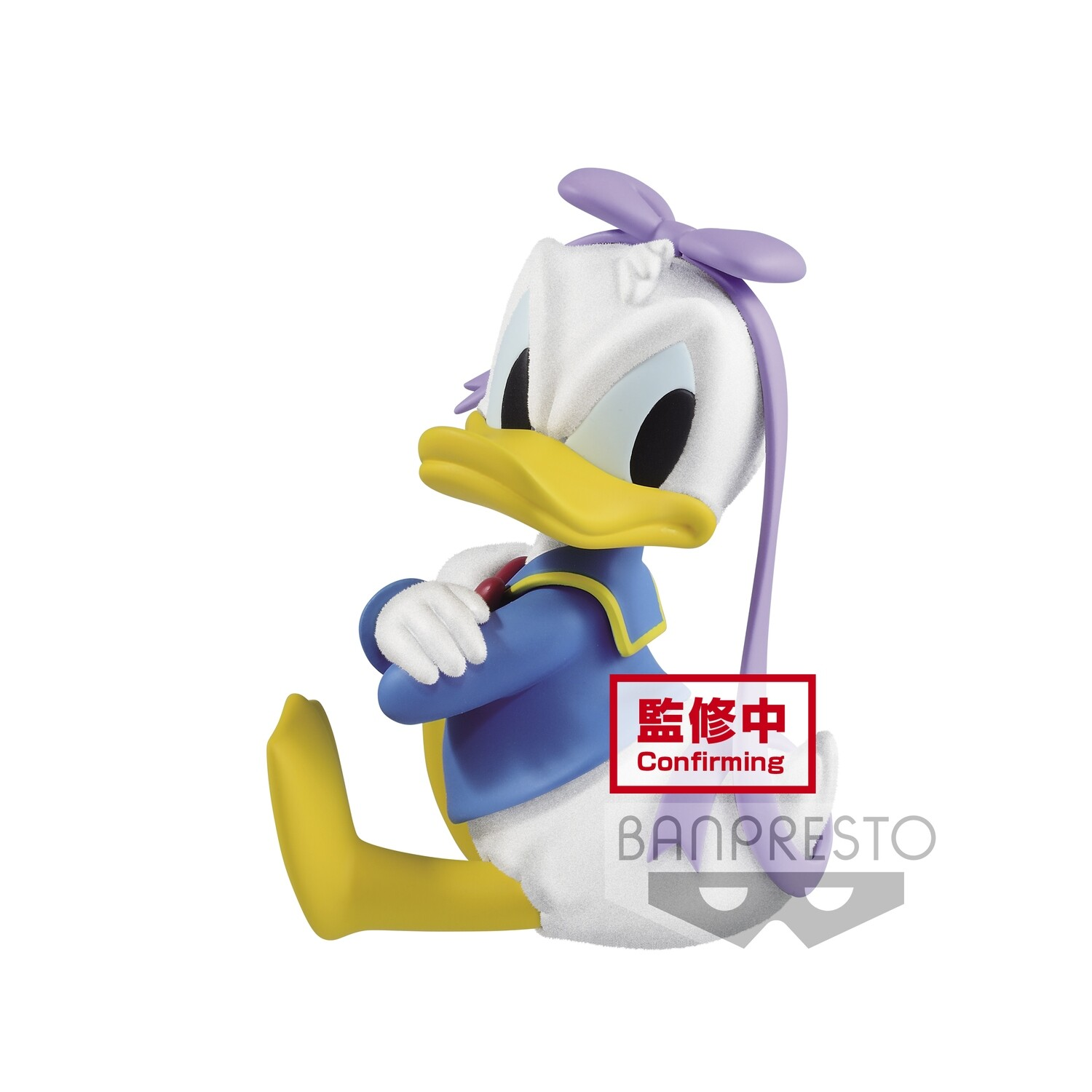 Banpresto DISNEY CHARACTERS FLUFFY PUFFY DONALD DUCK VER.B