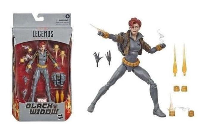 Hasbro Marvel Legends Black Widow Grey box
