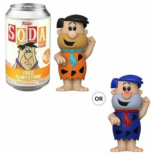 Flintstones Fred Flintstone Vinyl Soda Figure