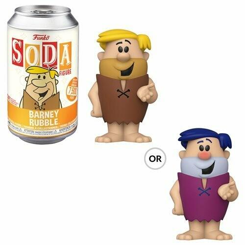 FUnko Hanna-Barbera Barney Rubble Vinyl Soda Figure