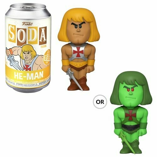 Masters of the Universe He-Man Vinyl Soda Figure