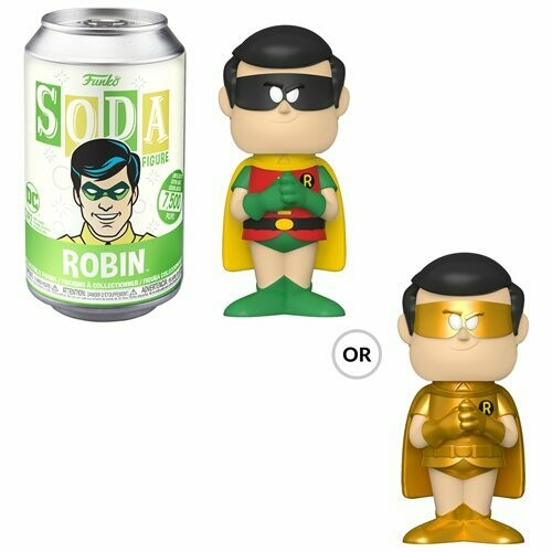 Batman Robin Vinyl Soda Figure