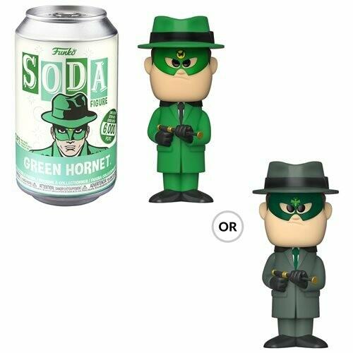 Green Hornet Vinyl Soda Figure