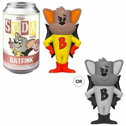 Bat Fink Vinyl Soda Figure