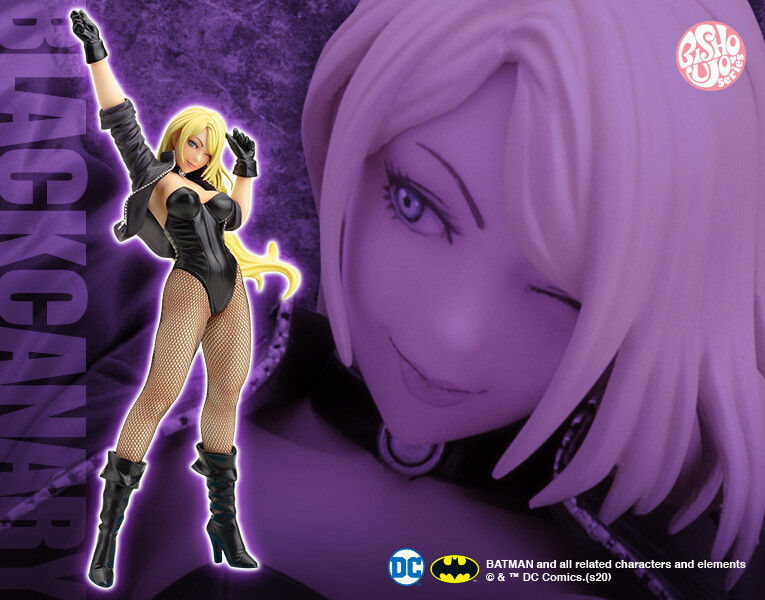 PRE-ORDER DC Comics Black Canary 2nd Edition Bishoujo Statue