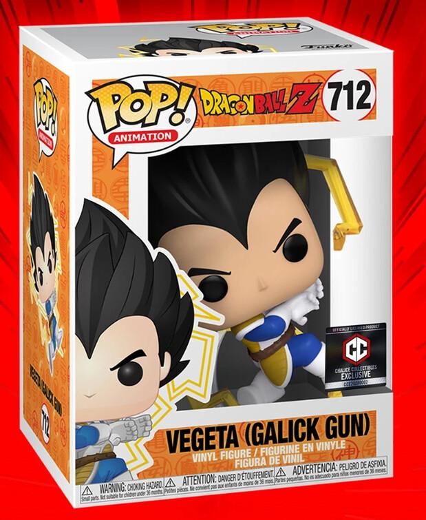 Funko Dragon Ball Z - Vegeta Galick Gun Chalice Collectibles Exclusive Pop! Vinyl Figure