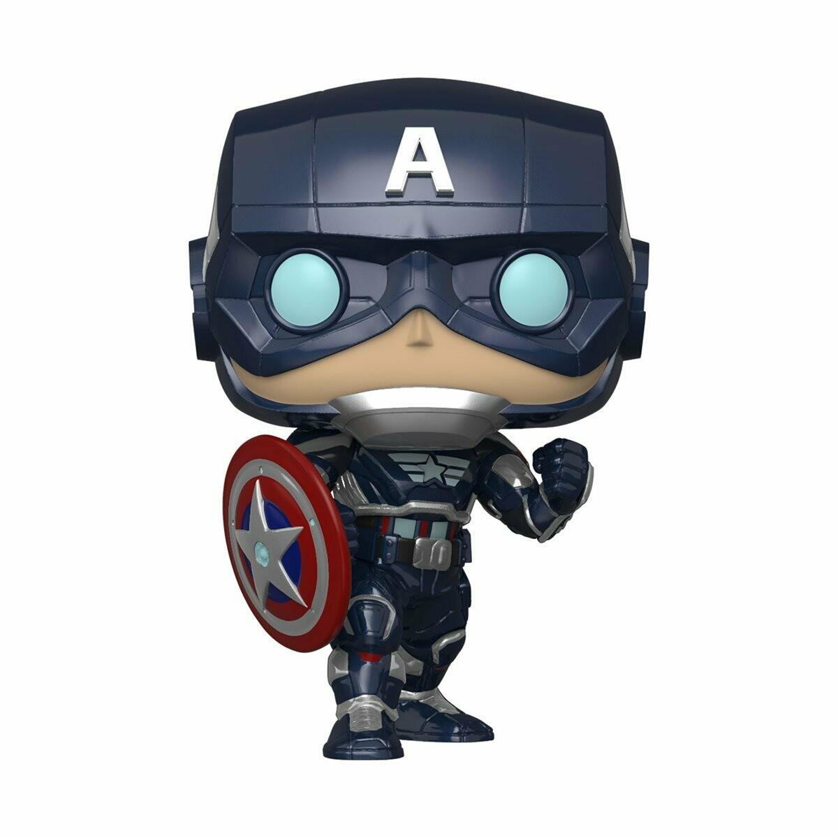 Funko Marvel's Avengers Game Captain America Pop! Vinyl Figure