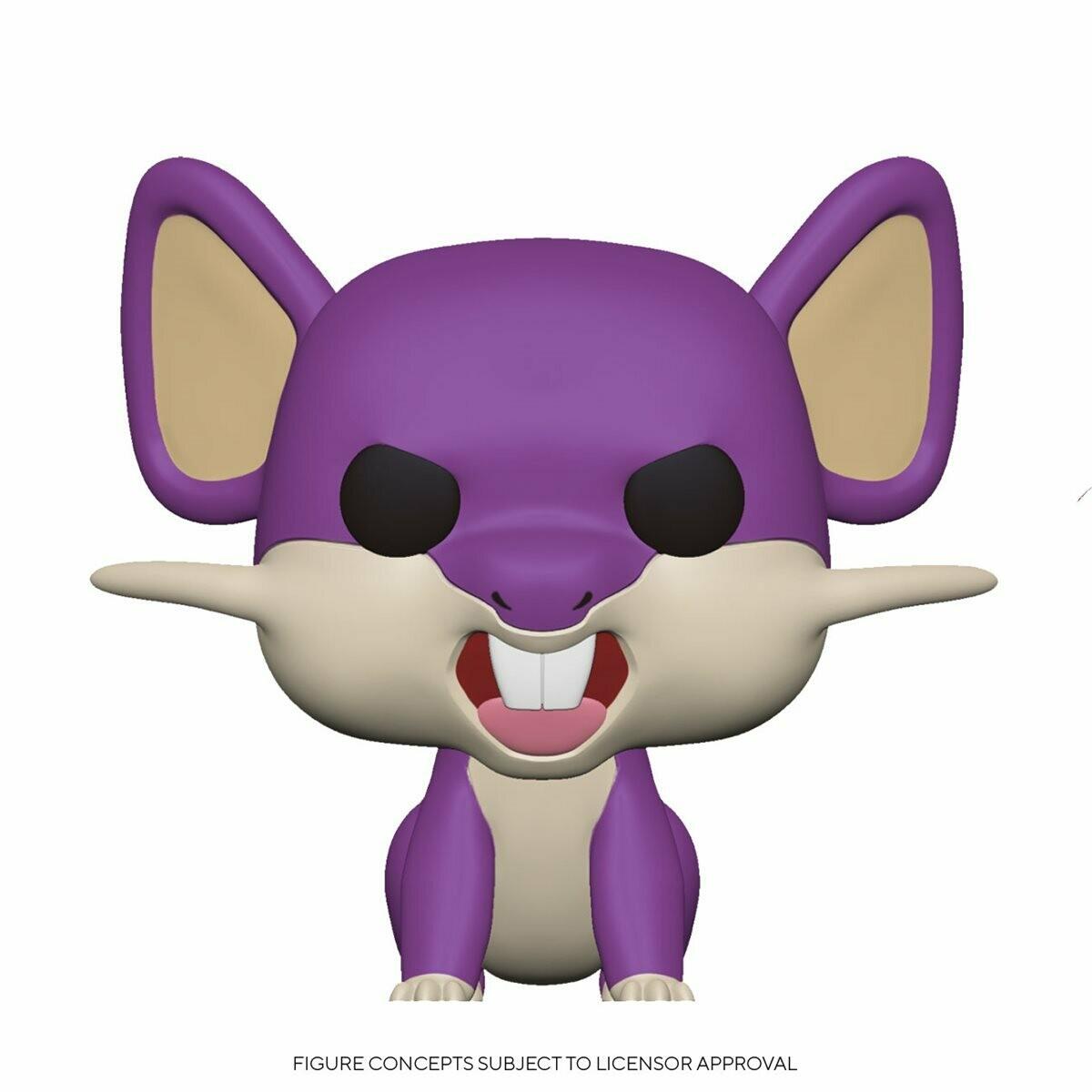 PRE-ORDER Pokemon Rattata Pop! Vinyl Figure