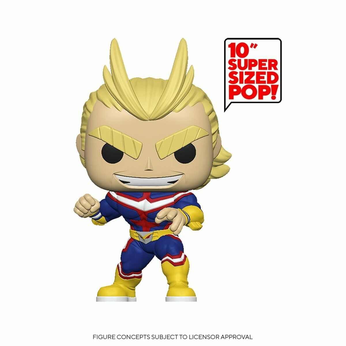 PRE-ORDER My Hero Academia All Might 10-Inch Pop! Vinyl Figure