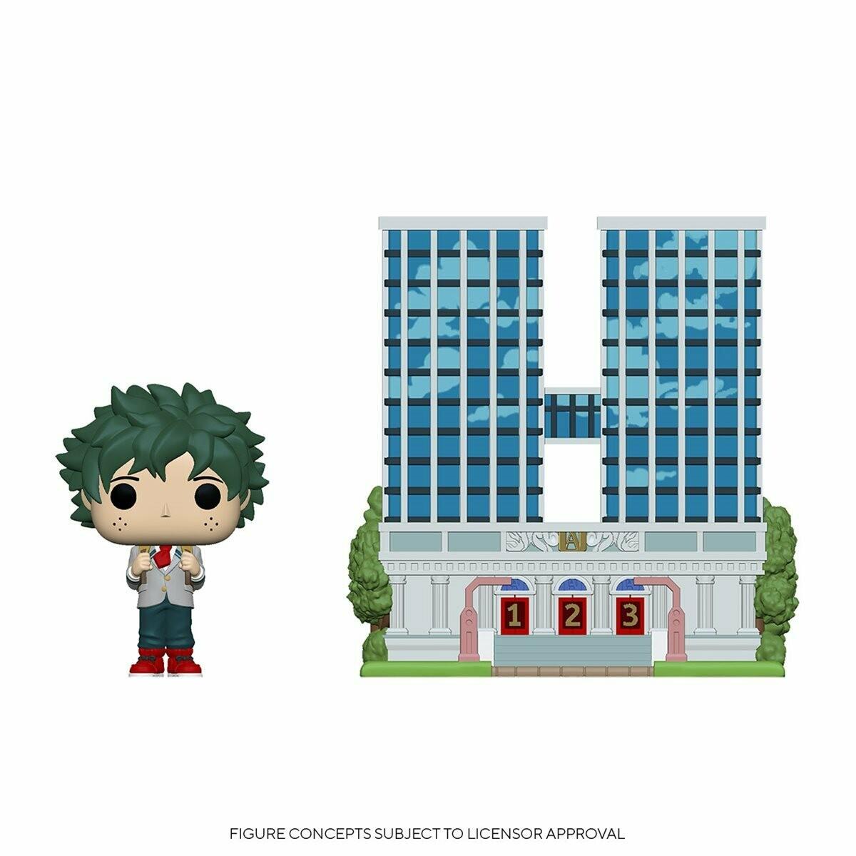 PRE-ORDER My Hero Academia U.A. High School with Deku in Uniform Pop! Town