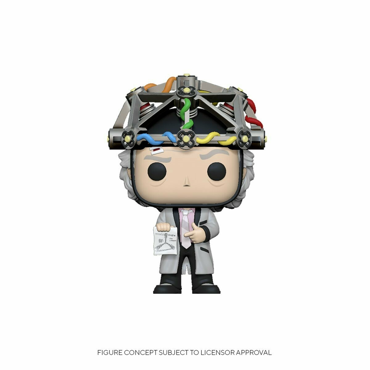 Back to the Future Doc with Helmet Pop! Vinyl Figure