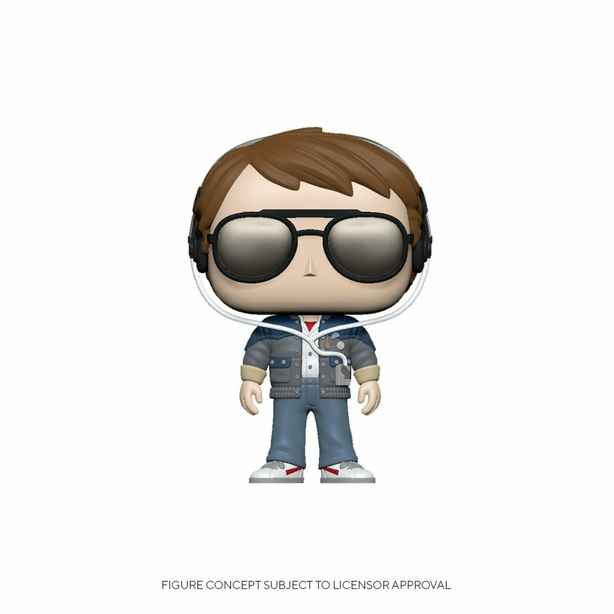 Funko Back to the Future Marty with Glasses Pop! Vinyl Figure