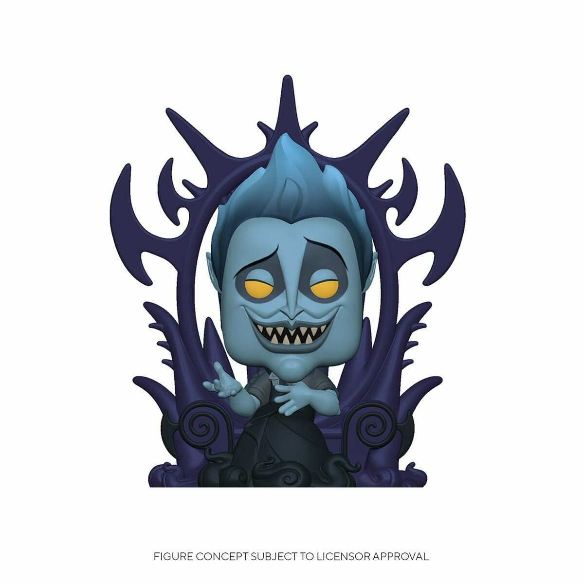 PRE-ORDER Hercules Hades on Throne Deluxe Pop! Vinyl Figure