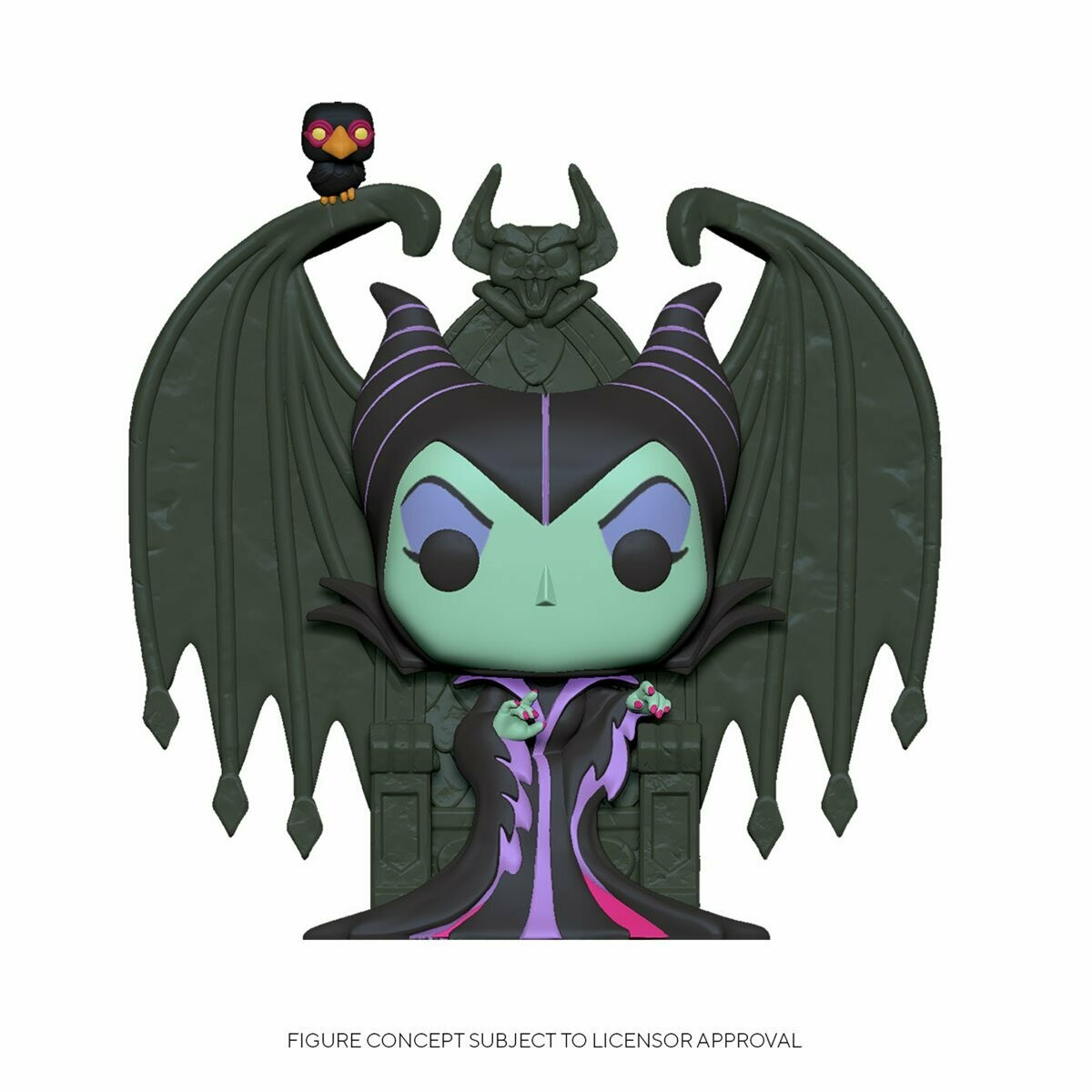 Sleeping Beauty Maleficent on Throne Deluxe Pop! Vinyl Figure