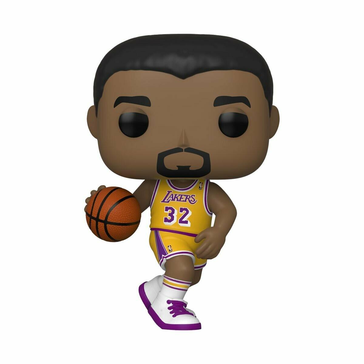 Funko NBA Legends Magic Johnson (Lakers home) Pop! Vinyl Figure