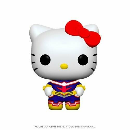 PRE-ORDER Sanrio x My Hero Academia Hello Kitty x All Might Pop! Vinyl Figure