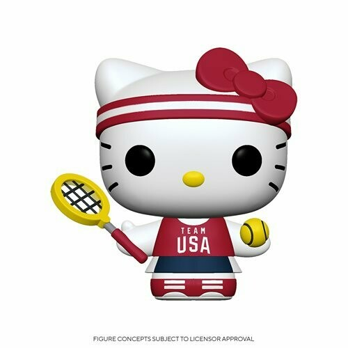 PRE-ORDER Hello Kitty Team USA Tennis Pop! Vinyl Figure