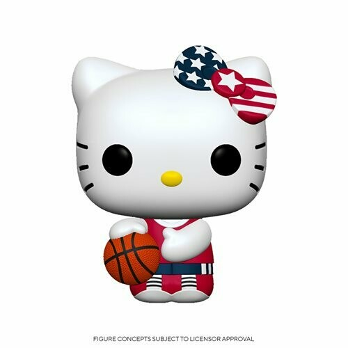 PRE-ORDER Hello Kitty Team USA Basketball Pop! Vinyl Figure