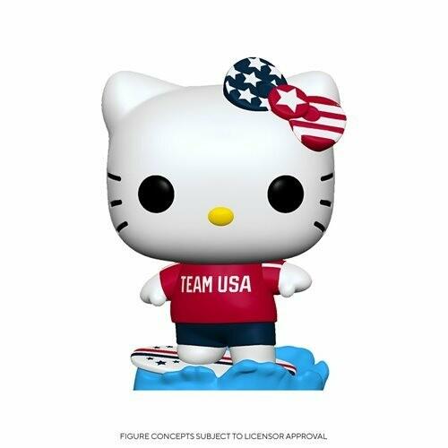 PRE-ORDER Hello Kitty Team USA Surfing Pop! Vinyl Figure