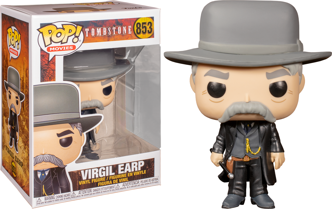 Tombstone - Virgil Earp Pop! Vinyl Figure