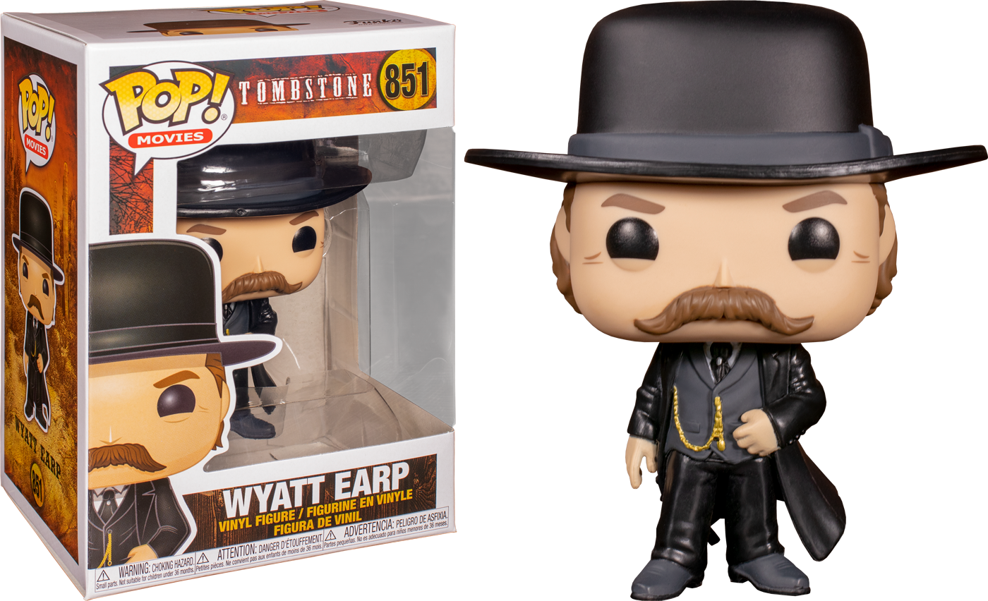 Funko Tombstone - Wyatt Earp Pop! Vinyl Figure