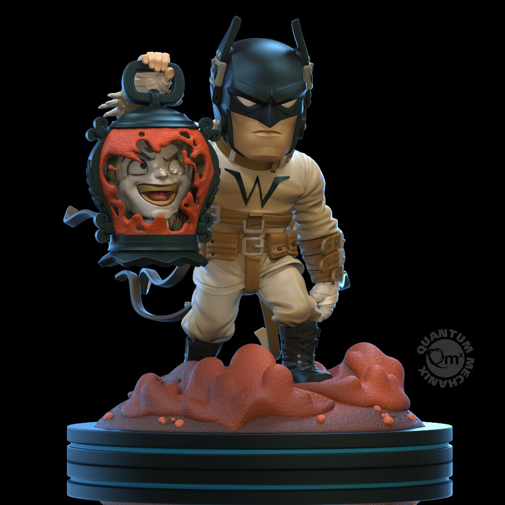 QMx Batman Last Knight on Earth Q-Fig Elite