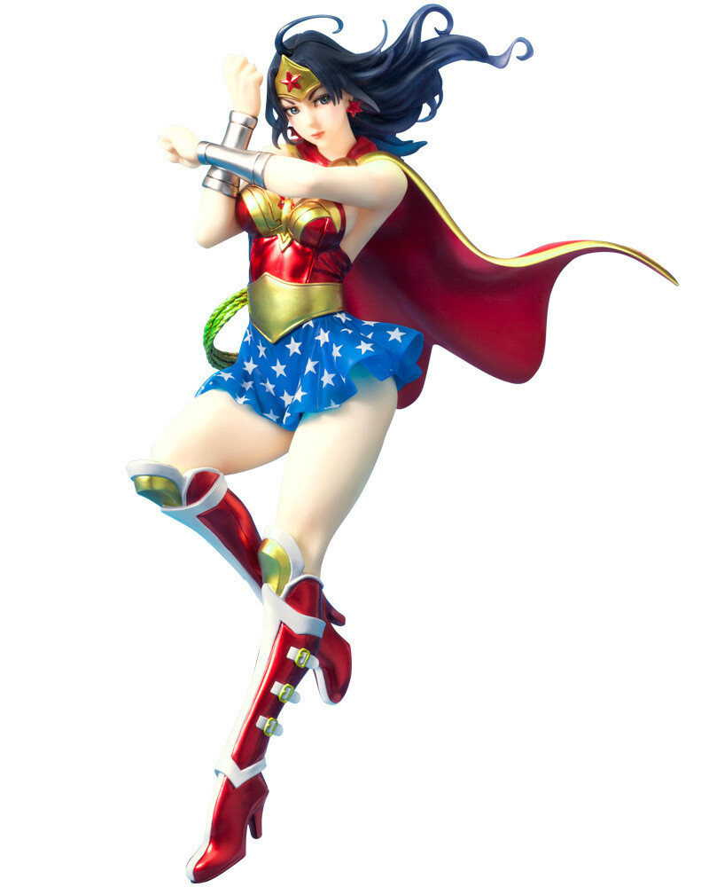 PRE-ORDER DC Comics Armored Wonder Woman 2nd Edition Bishoujo Statue